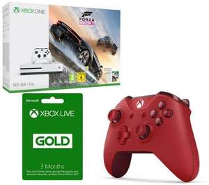 XBox One S Forza 500Gb + Controller + 3 Month XBox Live £218.99 @ PC World