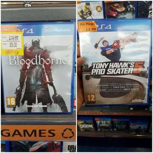 Tony Hawk's 5 £4.99 / Bloodborne £8 PS4 @ Smyths toys - Barnsley