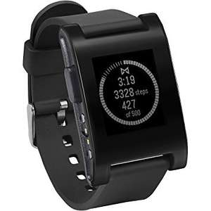 Pebble Classic Black Smart Watch £34.99 Sold by Laptop Outlet UK and Fulfilled by Amazon