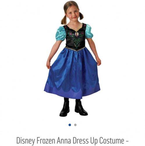 Disney Frozen Anna Dress Up Costume @ Argos now only £2.49
