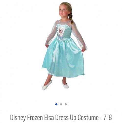 Disney Frozen Elsa Dress up Costume @ Argos now only £2.49