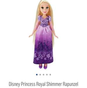 Disney Princess Royal Shimmer Rapunzel doll @ Argos now only £8.59