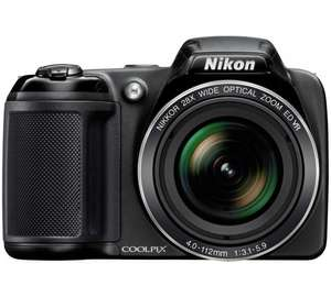 Nikon Coolpix L340 20MP 28x Zoom Bridge Camera £30 OFF £99.99 @ Argos