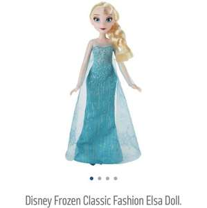 Disney Frozen Classic Fashion Elsa Doll £8.59 @ Argos
