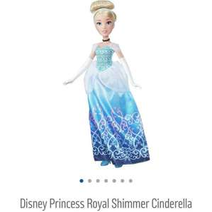 Disney Princess Royal Shimmer Cinderella £8.59 @ Argos