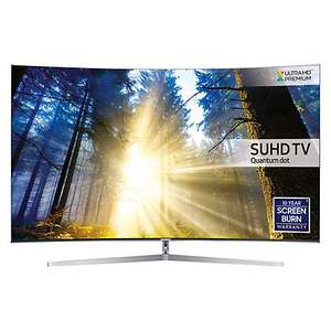 "PRICE DROP NOW £1199 Samsung 55"" UE55KS9000 TV with curved sound bar worth £379 for £1399! @ John Lewis"