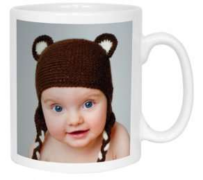 Free 11oz personalised mug (normaly £7.99) -  just pay delivery £2.99 @ Snapfish