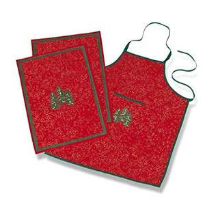 Get a jump on Christmas gifts- Festive Christmas Apron and Tea Towel Set £6.50 (Prime) / £10.49 (non Prime) Sold by Icebenice and Fulfilled by Amazon
