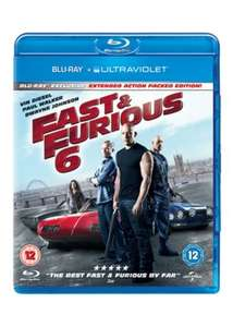 Fast & Furious 6 (Blu-Ray & UV) £3.69 - Base.com
