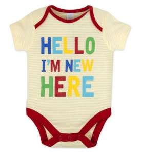 Buy 1 get 2nd half price on Mini Kids clothes and accessories plus 10 x parent club points eg I'm new here bodysuit £4 each or 2 for £6 @ Boots