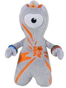 London 2012 Wenlock 20cm Soft Toy £1.00 Tesco sold by  The Entertainer