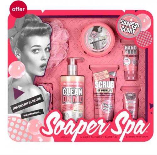 soap & glory gift set half price - £10 @ Boots