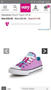 Converse Chuck Taylor All Star II pink & blue - £24 @ Very