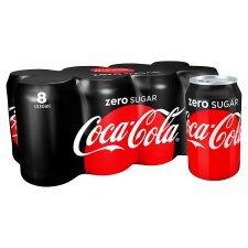 Tesco Gateshead (instore) coke zero 8 can pack £1 instore