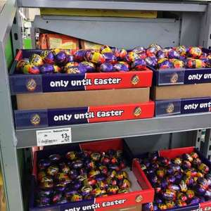 Cadbury creme eggs 13p Asda instore (Waterlooville)