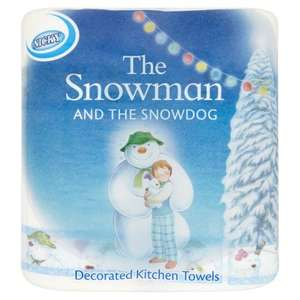 Snowman Nicky kitchen towels 2 pack 39p and Toilet roll 4 packs 2 for £1 @ Farmfoods