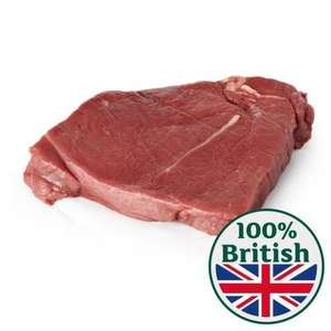British Rump Steak Thick Cut Typically: 0.4kg Typical price was £5.87 now £3.58 @ Morrisons