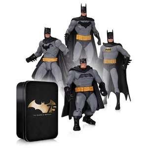 Batman 75th Anniversary Action Figure 4 Pack Set 2 now £14.99 @ B&M instore