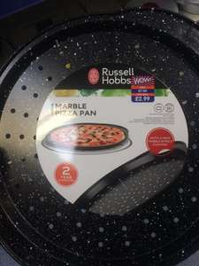 Russell hobbs pizza pan reduced to £1.49 at b&m!