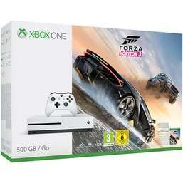 White 500GB Xbox One S inc. FH3, GOW4 & Halo 5 £209.99 @ Game