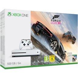 White 500GB Xbox One S inc. FH3, GOW4 & Halo 5 £209.99 @ Game