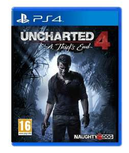 [PS4] Uncharted 4: A Thiefs End - £14.99 (Pre-owned) - Grainger Games