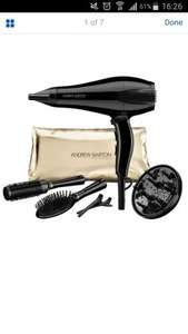 Andrew Barton professional AC Hair dryer with accessories £19.99 - Argos ebay free delivery RRP £75