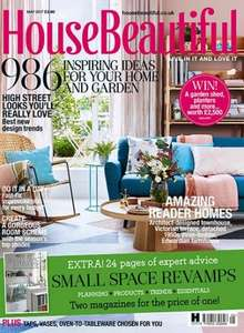 House Beautiful magazine 12 issues for £15