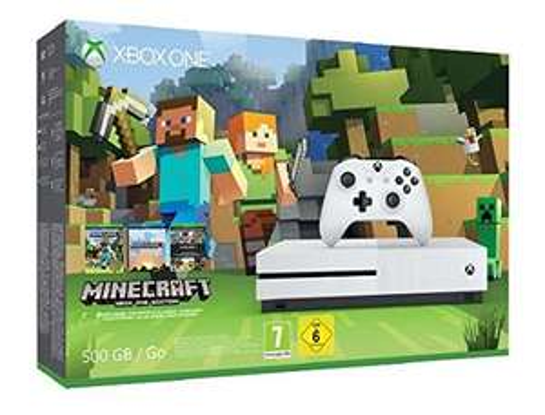 Xbox One S 500GB with Minecraft Favorites - £170.00 - Amazon.es