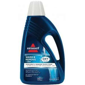 Bissell Wash & Remove + Oxy Carpet Shampoo 3 for £23.99 with code EXTRA20 from Bissell Direct