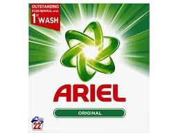 Ariel 16 wash powder £2 @ the factory shop