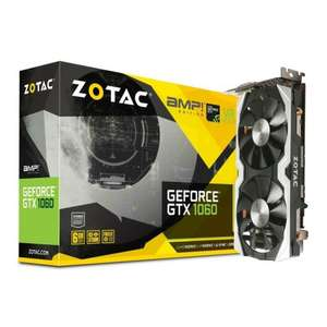 Zotac GeForce GTX 1060 AMP! Edition (6GB) + 'For Honor' or 'Ghost Recon: Wildlands' £239.99 at Amazon