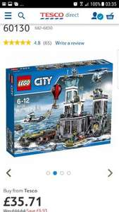 lego City Prison Island 60130 less than half price £35.71 at tesco direct