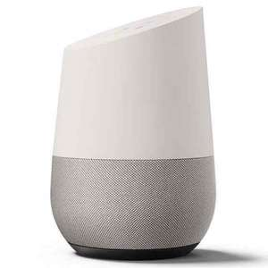 Google Home Smart Speaker with FREE Google Chromecast £129 with 2 year guarantee included Free delivery @ John Lewis