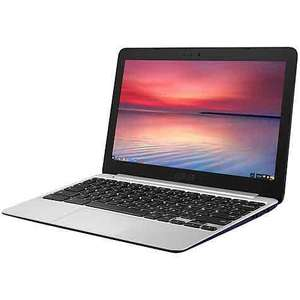 "ASUS Chromebook C201PA, 2GB RAM, 16GB, 11.6"" with Free Google Chromecast 2 year guarantee included £199.95 Free delivery @ John Lewis"