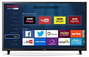 "Sharp LC-49CFF6001K 49"" Smart LED 1080p With Freeview HD & Wi-Fi REFURBISHED WITH A 12 MONTH £259 -  TESCO eBay OUTLET WARRANTY"