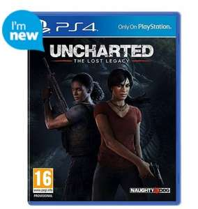 Wipeout Omega Collection & Uncharted: The Lost Legacy @ Tesco Direct - £45