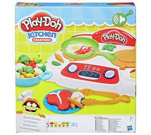 Play-Doh Kitchen Creations Sizzlin' Stovetop - Asda Instore @ £4.50