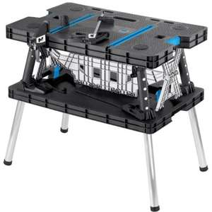 Mac Allister Foldable Quick Grip Clamp Workbench / Collapsible workstation - B & Q - £45