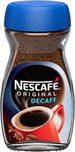 Nescafé Original Decaffeinated Coffee 200G - £3.50 @ Tesco
