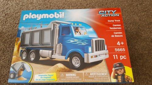 Playmobil dumper truck £4.75 tesco instore