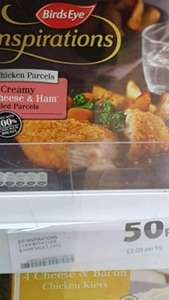 Chicken and Ham parcels 50p - Tesco