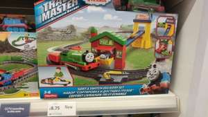 Thomas And Friends Trackmaster Train set Percy Delivery £8.75 in store at Tesco