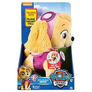 Paw Patrol Talking Plush Characters £6.25 @ Tesco instore