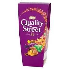 Tesco: Nestlé Quality Street 265g 75p @ Tesco - Liverpool One