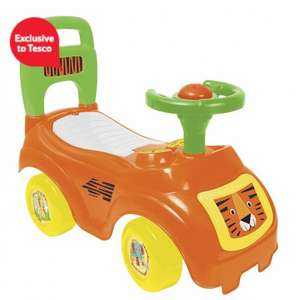 Tesco Jungle Jive My 1st Ride On - Tiger now for £8.10 with code @ tescodirect