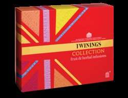 Twinings Collection Fruit and Herbal Infusions 60 teabags 10p @ B&M