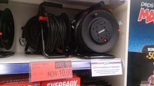 4 socket 20 m cable reel £9.99 in b&m - not sure if national but good deal. found in chorley