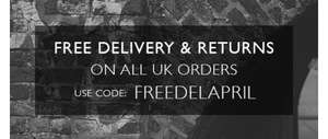 Free Delivery on all orders @ Lyle&Scott