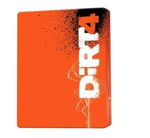 Dirt 4 Steelbook Edition Pre-order (XO/PS4/PC) - £41 with code @ Tesco Direct (Exclusive to Tesco)
